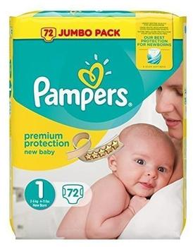 Pampers New Baby 2-5 kg 2 x 72 Stück