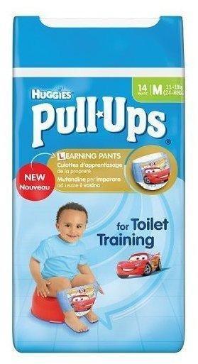 Huggies Pull Ups Jungen 11-18 kg 14 Stück