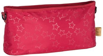Lässig Buggy Organizer Reflective Star Red