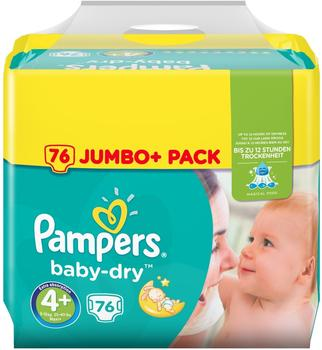 Pampers Baby-Dry 9-18 kg 76 Stück
