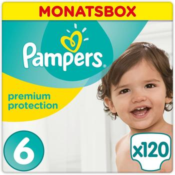 Pampers Premium Protection Gr. 6 (15+ kg) 120 St.