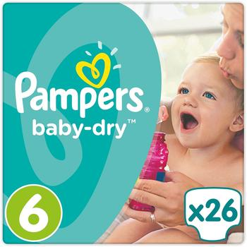 Pampers Baby-Dry 15+ kg 26 Stück