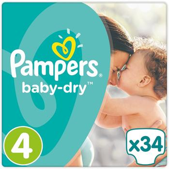 Pampers Baby Dry Gr. 4 (9-14 kg) 34 St.