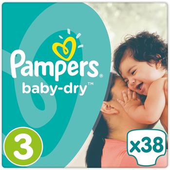 Pampers Baby-Dry 5-9 kg 38 Stück