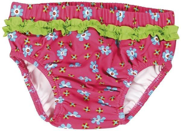 Playshoes UV-Schutz Windelhose Blumen pink