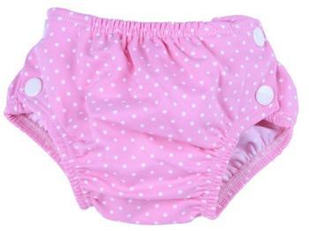 Popolini Schwimmwindel Dots pink S 3-9 kg