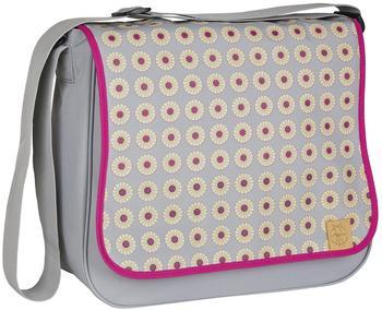 Lässig Basic Messenger Bag Wickeltasche/Babytasche inkl. Wickelzubehör, grau