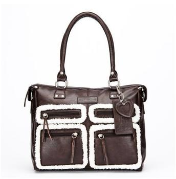 little-company-black-label-totem-shoulder-bag-brown