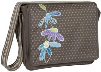 Lässig Casual Messenger Bag Flower Slate