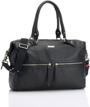 Storksak Caroline Leather black