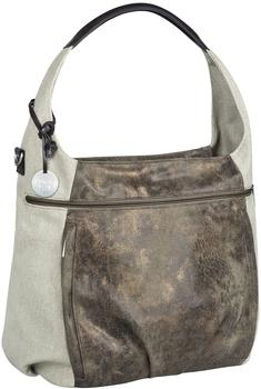 Lässig Casual Hobo Bag Olive/Beige