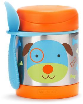 Skip Hop Zoo Insulated Little Kid Food Jar Dog