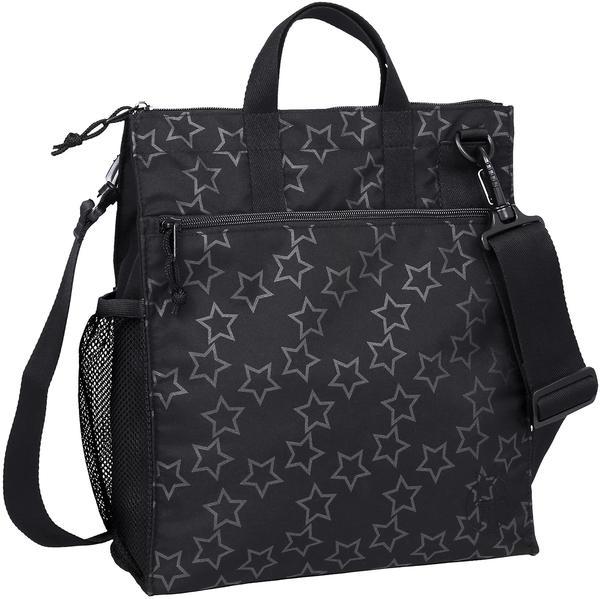 Lässig Casual Buggy Bag Reflective Star black