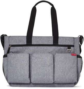Skip Hop Double Duo Heather Gray