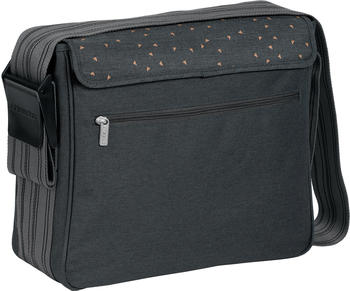 Lässig Casual Messenger Bag Triangle dark grey