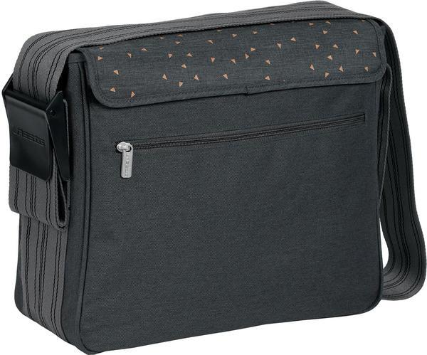 Lässig Casual Messenger Bag Triangle dark grey