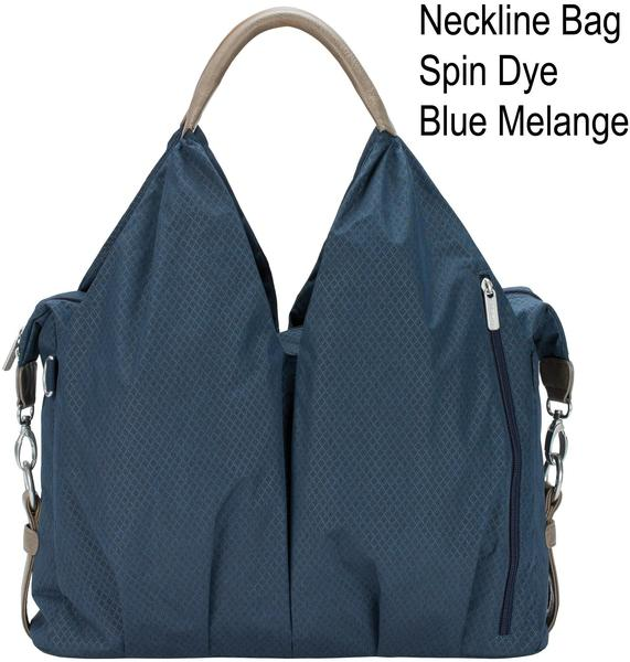 Lässig Green Label Neckline Bag Spin Dye blue melange