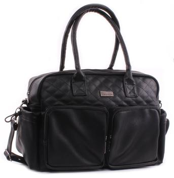 Kidzroom Wickeltasche Vision Leather black