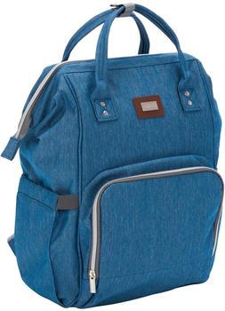 Fillikid Wickelrucksack (6303) jeansblau melange