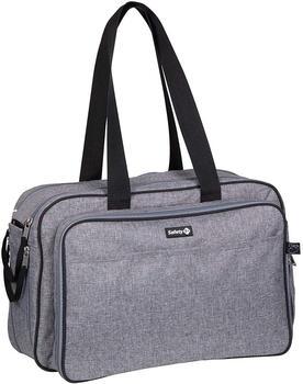 Safety 1st Nap To Go 2in1 Wickeltasche mit Mini Reisebett schwarz/grau