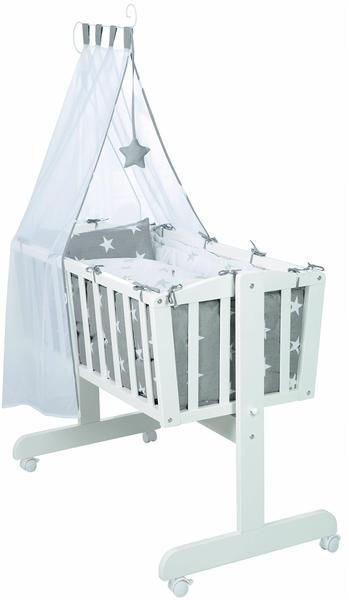 Roba Little Stars Komplettwiegenset Little Stars Weiss Test Ab