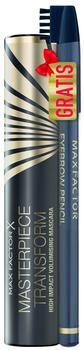Max Factor Masterpiece Transform Mascara black+Eyebrow Pencil hazel