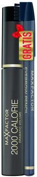 Max Factor 2000 Calorie Dramatic Volume Mascara + gratis Eyebrow Pencil