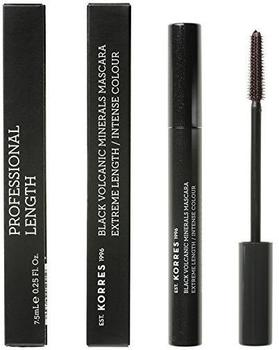 Korres Black Volcanic Minerals Lengthening Mascara 03 Brown Plum 8 ml
