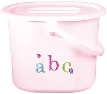 bébé-jou Windeleimer ABC hellrosa