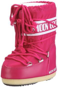 Moon Boot Nylon pink-bouganville