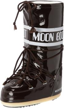 Moon Boot Vinyl dark-brown/black