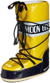Moon Boot Vinyl yellow/nightblue