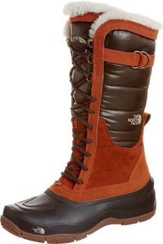The North Face Women's Shellista Lace Boots shiny-demitasse-brown/leather-brown