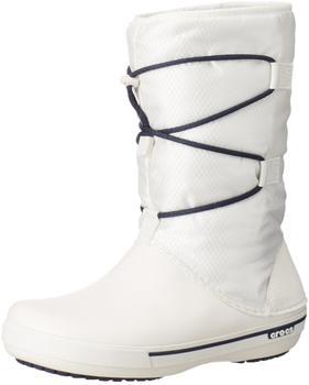 Crocs Women's Crocband II.5 Cinch Boot oyster/navy