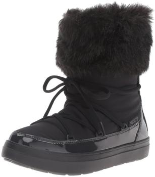 Crocs Women's LodgePoint Lace Boot black