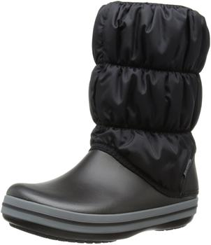 Crocs Winter Puff Boot Women's (14614) black/charcoal