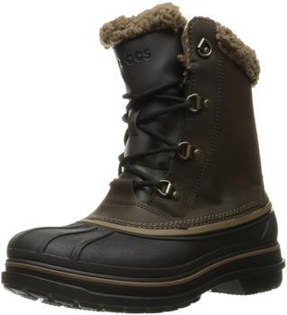 Crocs Men's AllCast II Boot espresso/black