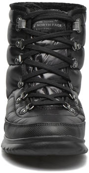 The North Face Thermoball Lace II Women shiny tnf black/iron gate grey