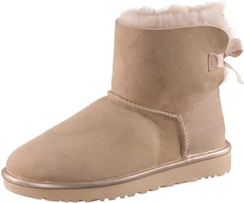 UGG Mini Bailey Bow II Metallic Women driftwood