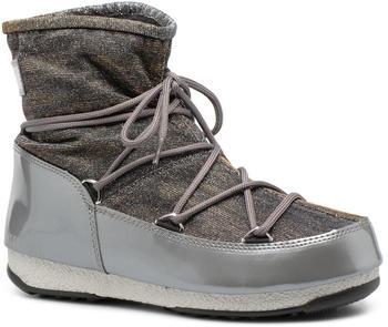 Moon Boot Low Lurex grey/silver