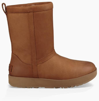 UGG Classic Short Leather Waterproof Boot chestnut