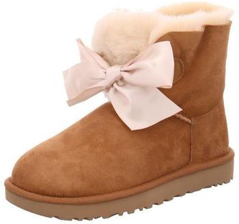 UGG Gita Bow Mini Boot chestnut
