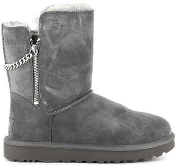UGG Classic Short Sparkle Zip Boot charcoal