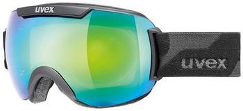 Uvex Downhill 2000 Small FM black mat/green mirror