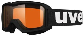 Uvex Flizz LG black mat
