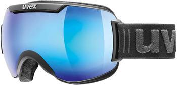 Uvex Downhill 2000 Small FM black mat/blue mirror
