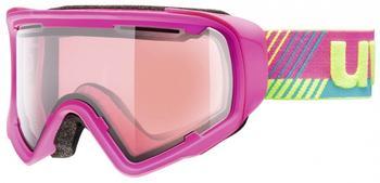 Uvex JAKK Stimu Lens pink mat