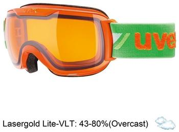 Uvex Downhill 2000 Race orange-green