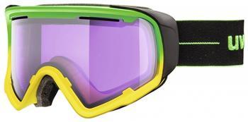 Uvex JAKK Stimu Lens green-yellow mat