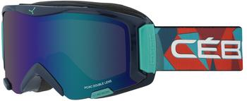 Cebe Cébé Skibrille Super Bionic Rainbow/Brown/Flash Blue, CBG116